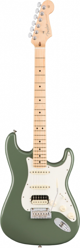 Fender American Professional Stratocaster HSS Shawbucker Olive Maple